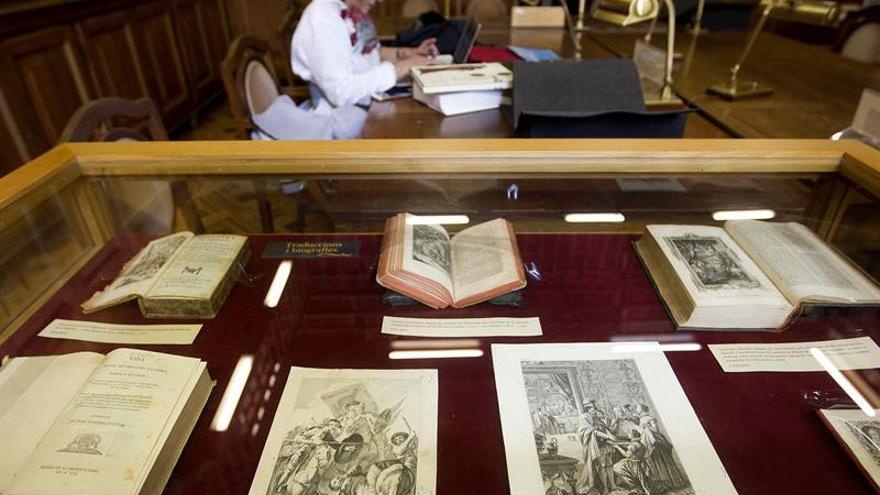 La Universidad de Barcelona muestra su fondo cervantino desde el siglo XVII