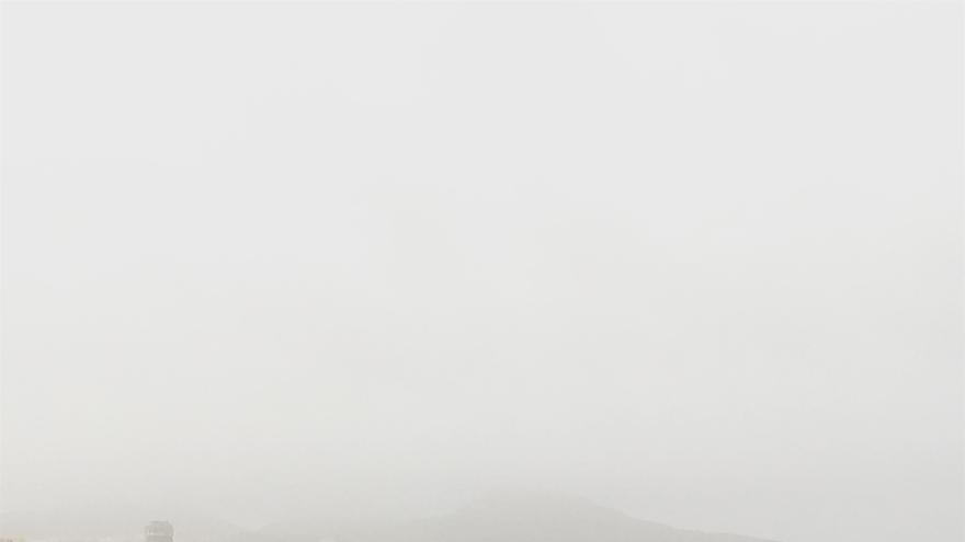 Uno de los episodios de calima del pasado mes de diciembre en Las Palmas de Gran Canaria.