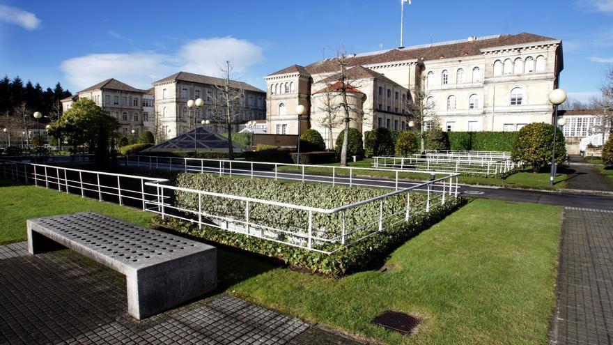Complejo administrativo de San Caetano, sede central de la Xunta, en Santiago de Compostela