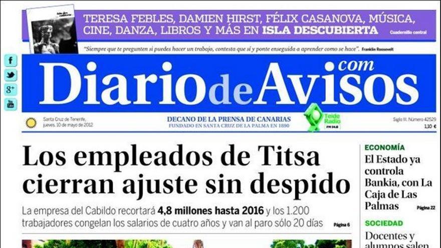 De las portadas del día (10/05/2012) #3