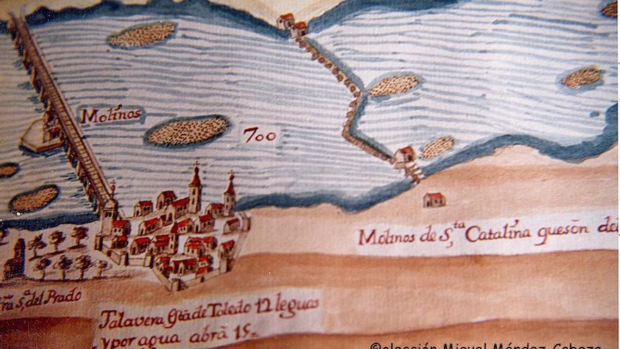 Talavera de la Reina y el Tajo. Colección de Miguel Méndez Cabezas