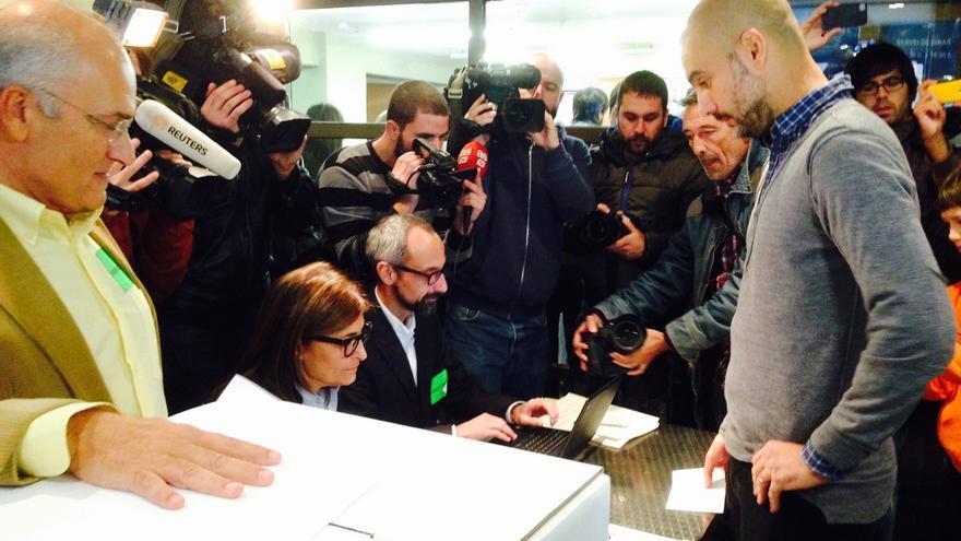 """Pep Guardiola no desvela su voto a la espera de """"días mejores"""""""