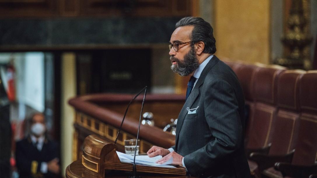 Sánchez García, en el Congreso