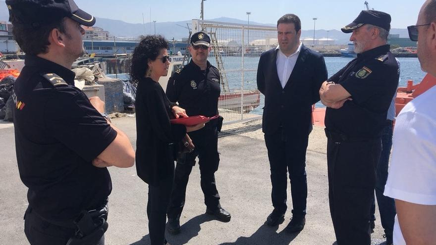 """Unidos Podemos califica de """"calabozo indigno"""" el centro de acogida de extranjeros de Motril"""