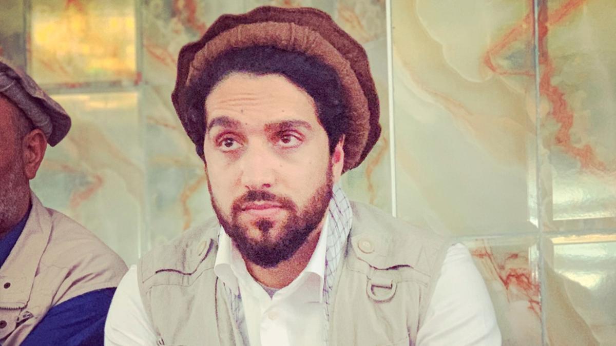 """Ahmad Masoud es hijo del """"León de Pashnir""""."""