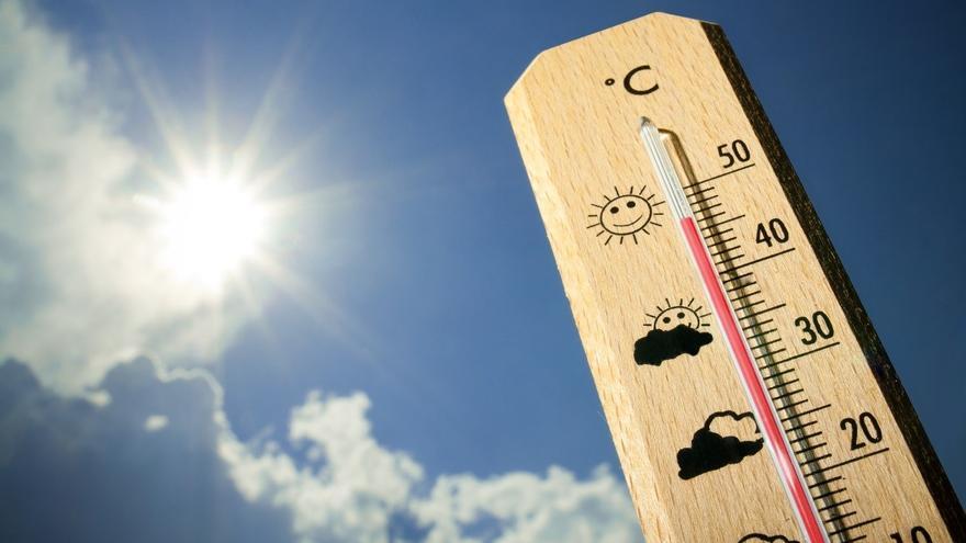 Subida de temperaturas este lunes.