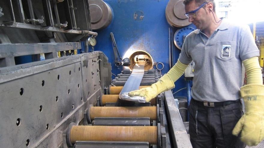 La facturación de la industria sube un 8,4% en febrero en Cantabria, más que la media