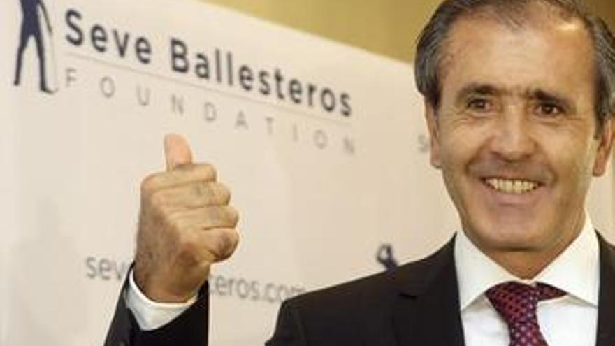 """Severiano Ballesteros: """"Me encuentro muy bien, bajo par"""""""