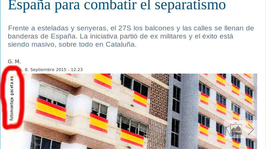 Los balcones se llenan de banderas