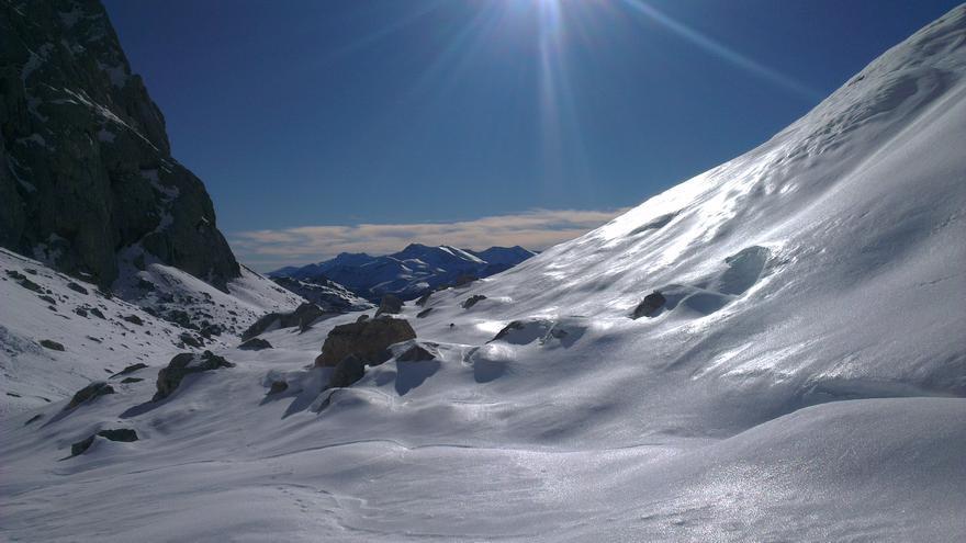 La Vueltona, en el macizo central de los Picos de Europa.