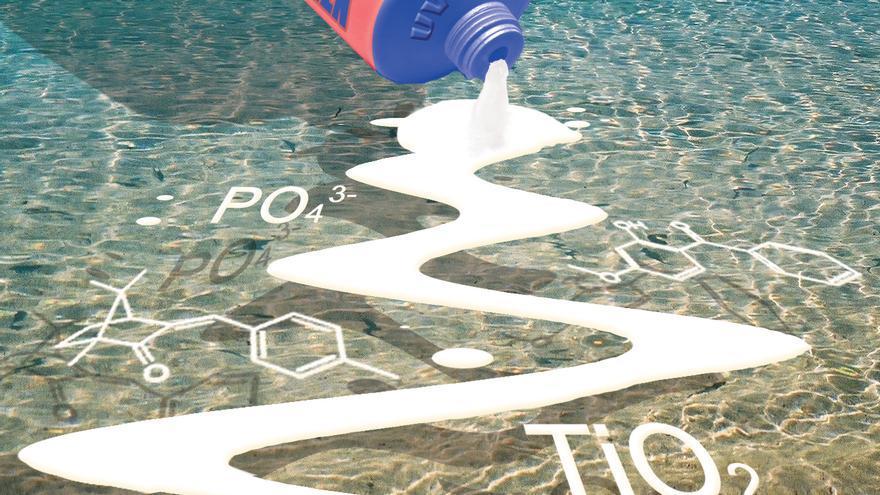 ¿Contaminan el mar los cosméticos solares?