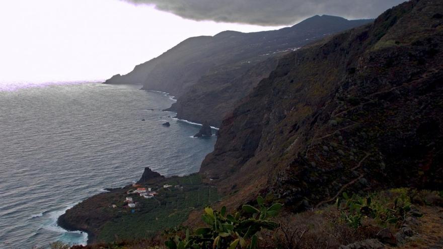 Vista de la costa de Franceses desde El Tablado. Foto: Javier Díaz Hernández y Horacio Concepción García.