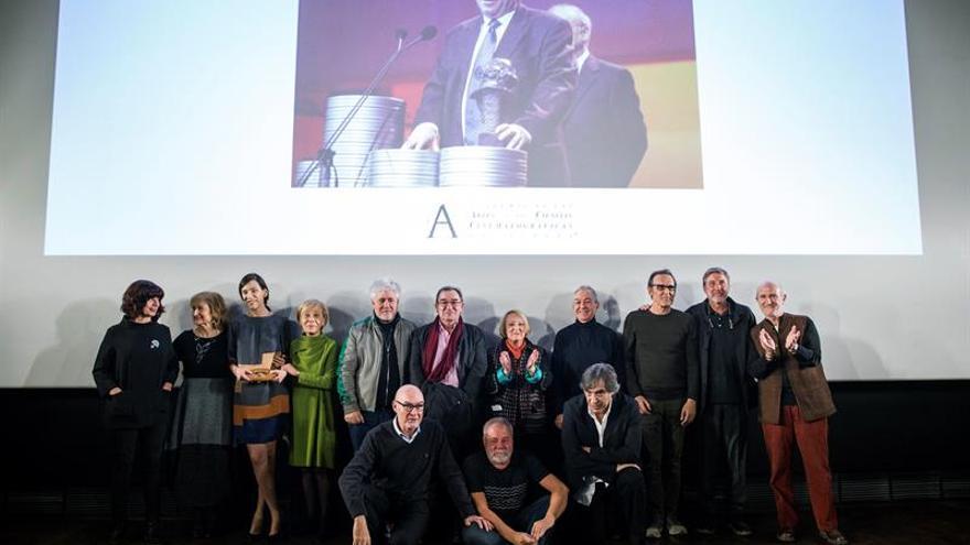 """""""Mi escuela ha sido Pepe Salcedo"""", dice Almodóvar en un homenaje al montador"""