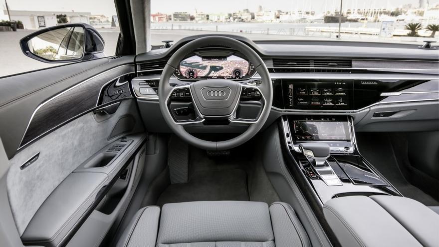 Tampoco faltan las soluciones de entretenimiento y de conectividad en el nuevo Audi A8.