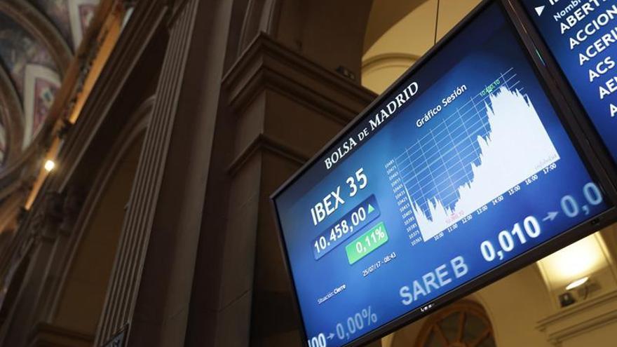 El IBEX se da la vuelta y sube 0,34 % apoyado en Endesa y los grandes valores