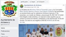 Evento en Facebook para promocionar la celebración del Día Internacional del Hombre