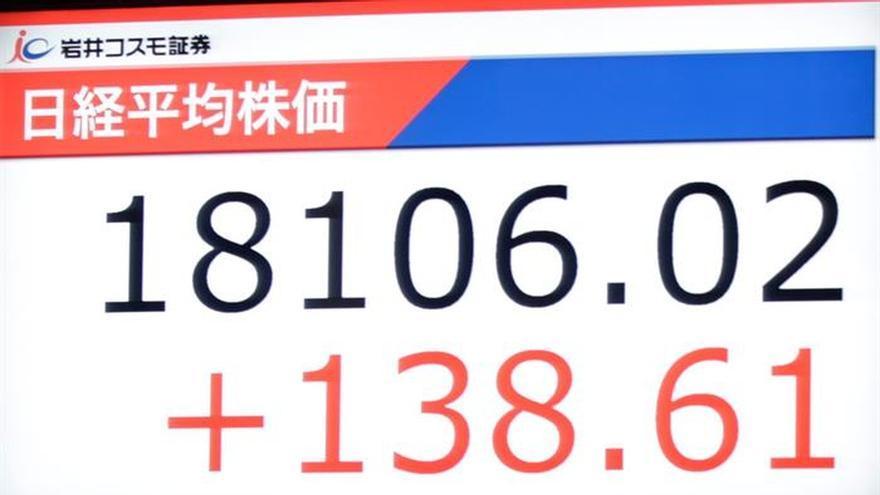 La Bolsa de Tokio abre con un avance del 1,26 por ciento