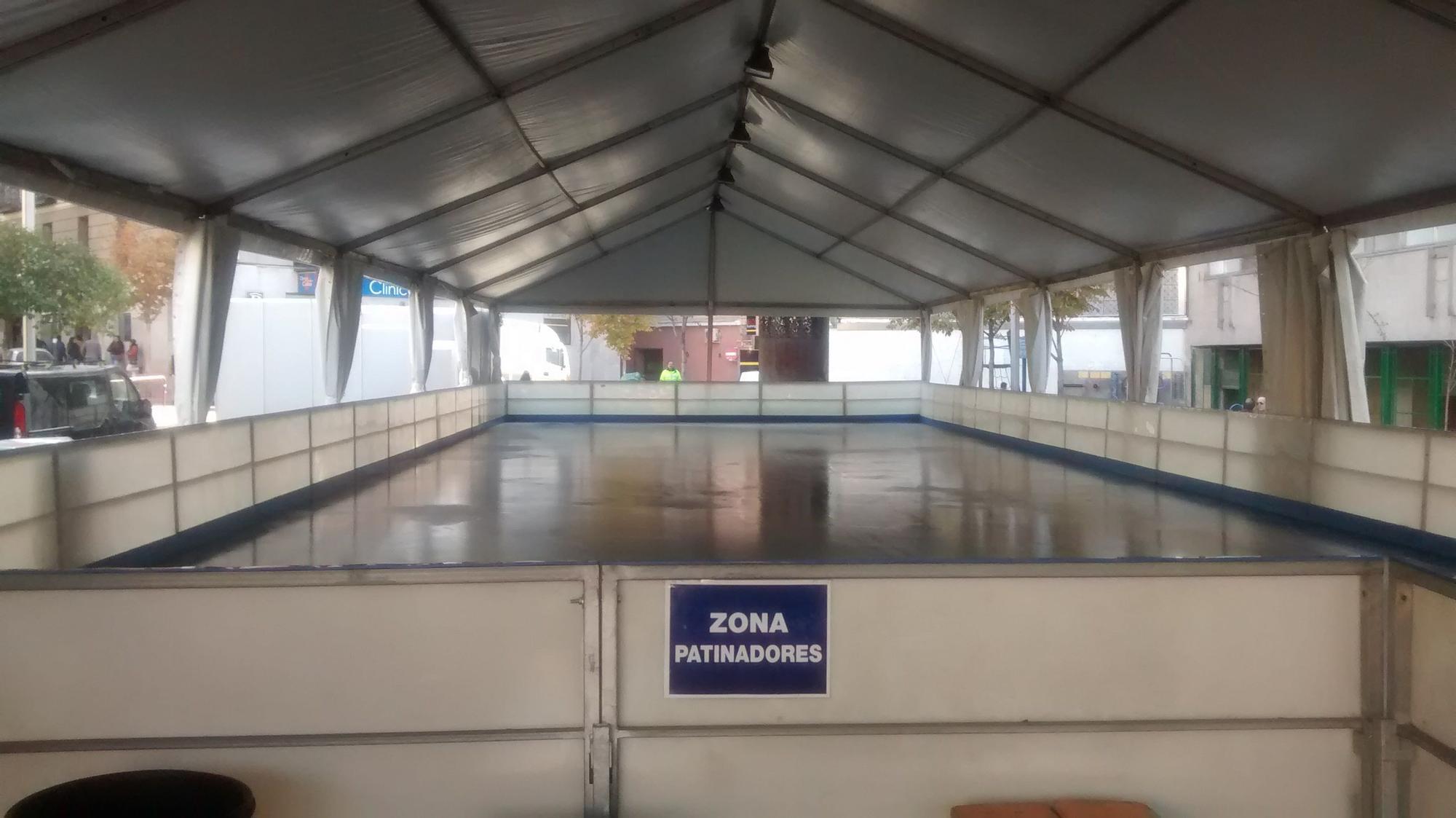 Imagen de la pista de hielo de Luna | SOMOS MALASAÑA