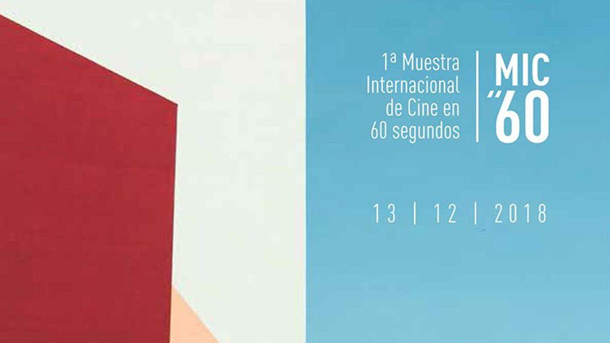 Cartel 1ª Muestra Internacional de Cine en 60 segundos   CULTURA INQUIETA