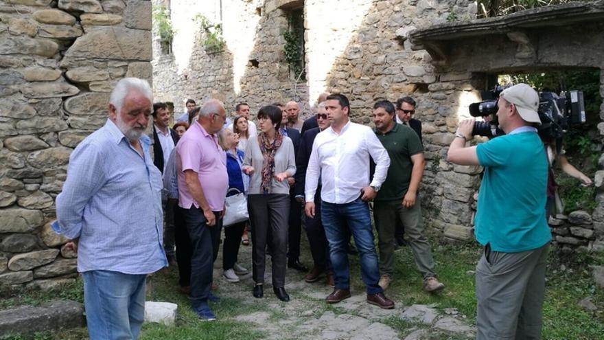 El renacer de Jánovas, icono de la lucha contra los embalses, simboliza las posibilidades de renacer de mundo rural aragonés.