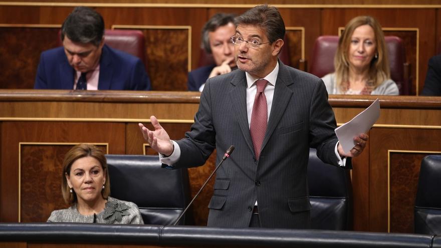 Catalá dice que el Gobierno impugnará la reforma exprés del Parlament si incumple la normativa autonómica