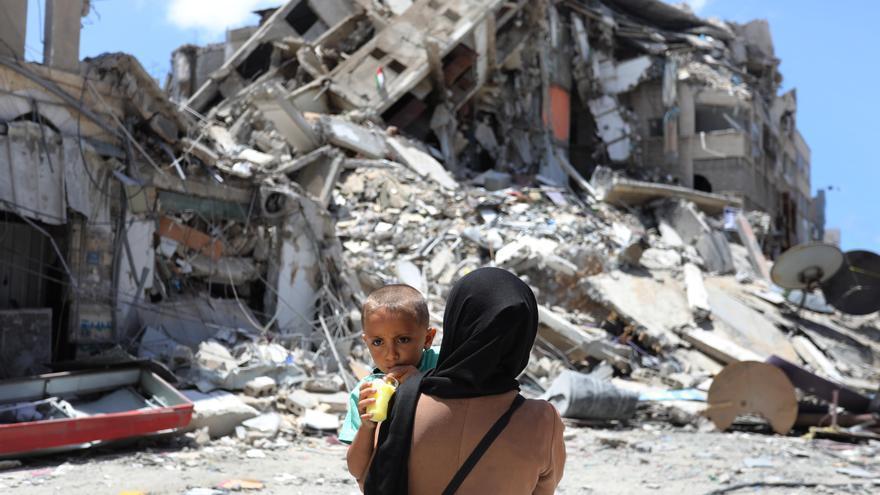 Destrucción en Gaza tras el alto al fuego