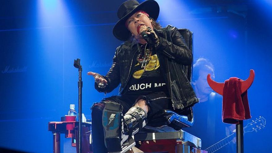 Guns N' Roses critica a Trump en un concierto en Brasil