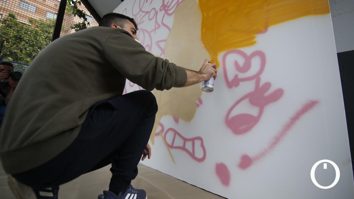 Mural mujer y discapacidad en FEPAMIC.