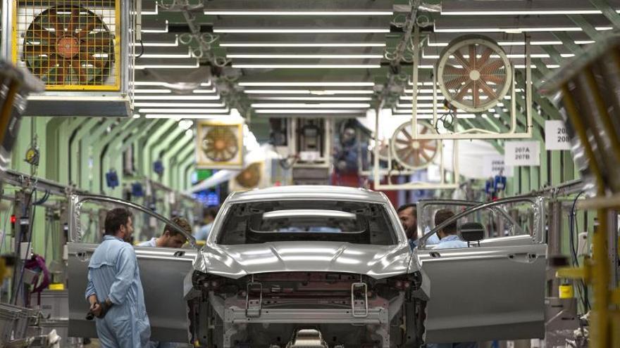 Entre las empresas que han presentado ERTE está la Ford de Almussafes