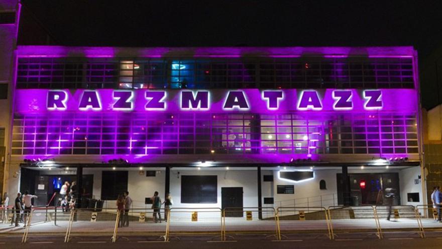 Entrada de la sala Razzmatazz en Barcelona, Imagen: Razzmatazz