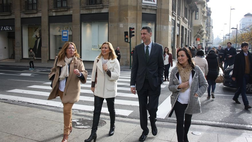 """Albiol advierte de una """"involución importante"""" en Navarra hacia """"posicionamientos nacionalistas radicales"""""""