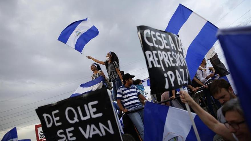 Movimiento estudiantil de Nicaragua llama a un paro nacional durante 24 horas