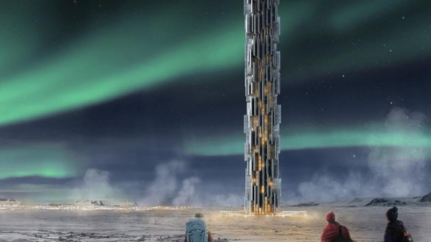 Dos arquitectos italianos han concebido este centro de datos sostenible que se instalaría en Islandia