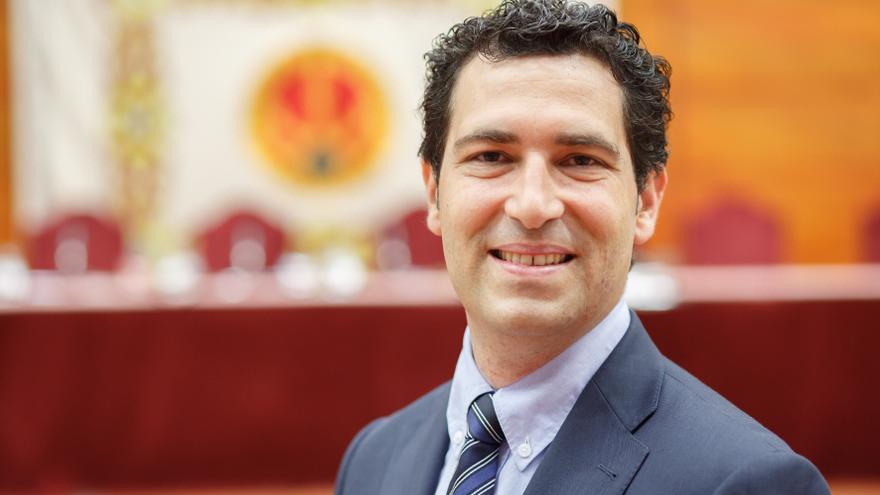 El vicerrector de Internacionalización de la UPNA, Hugo López.