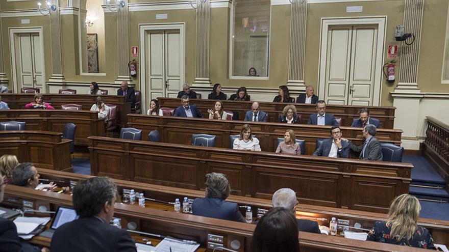 Bancada de Coalición Canaria en el Parlamento de Canarias