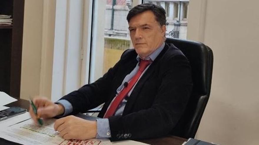 Guillermo Pérez-Cosío, concejal de Vox en Santander.