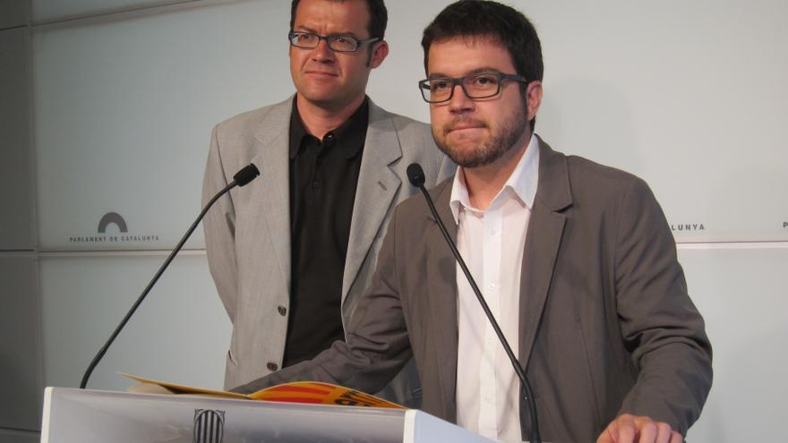 ERC, ICV y CUP quieren llevar a la Fiscalía a De Guindos, Solbes y Salgado si no acuden al Parlament catalán