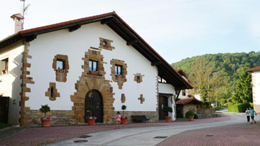 Caserío en Navarra / FOTO: Portal de Turismo de Navarra