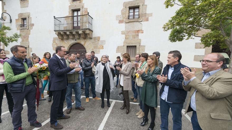 """Esparza critica en Olazagutía a quienes """"no respetan la libertad ni la democracia en Navarra"""""""