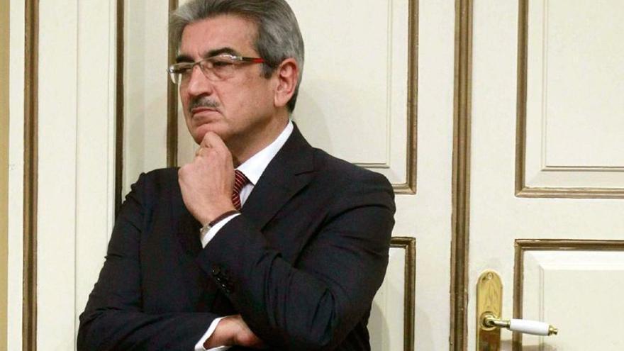 El líder de Nueva Canarias, Román Rodríguez (EFE)