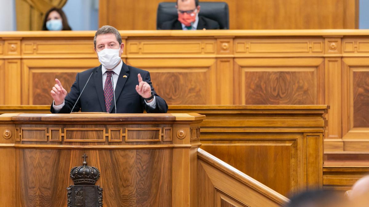 Emiliano García-Page en el Debate de la Región