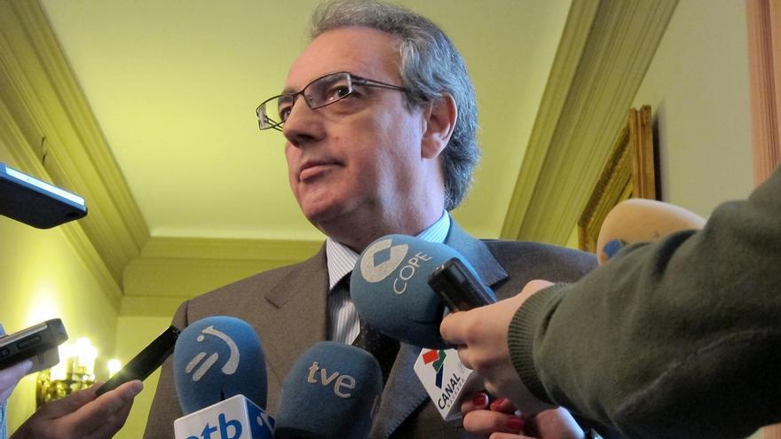 """Sanz dice que le gustaría que hubiese un candidato en UPN """"con posibilidades de pactar en la senda del Amejoramiento"""""""