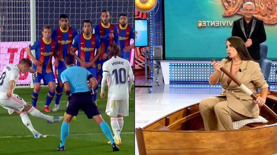 Real Madrid-Barcelona / 'Sábado Deluxe'