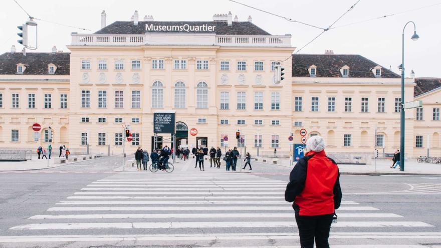 Museum Quarter, la zona cultural más de moda en la ciudad.