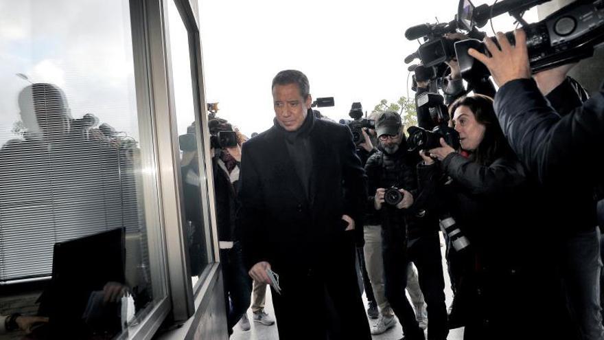 Zaplana tras firmar en el juzgado: no he participado en contratos fraudulentos