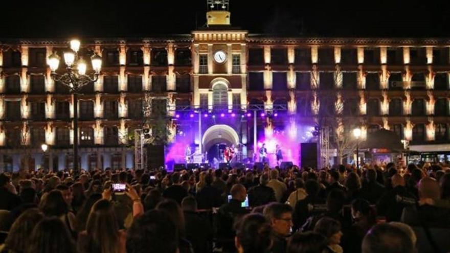 Concierto en la plaza de Zocodover en la anterior edición de Las Noches Toledana / Ayuntamiento de Toledo