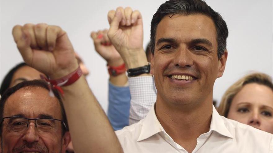 Sánchez ganó en 37 provincias, Díaz se impuso en 13 y López ganó en dos