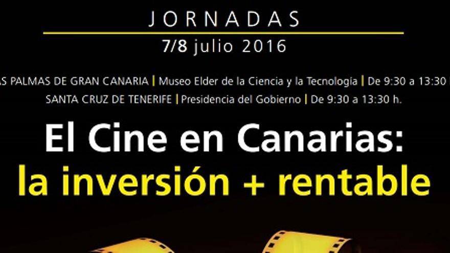 Cartel Jornadas de Cine en Canarias