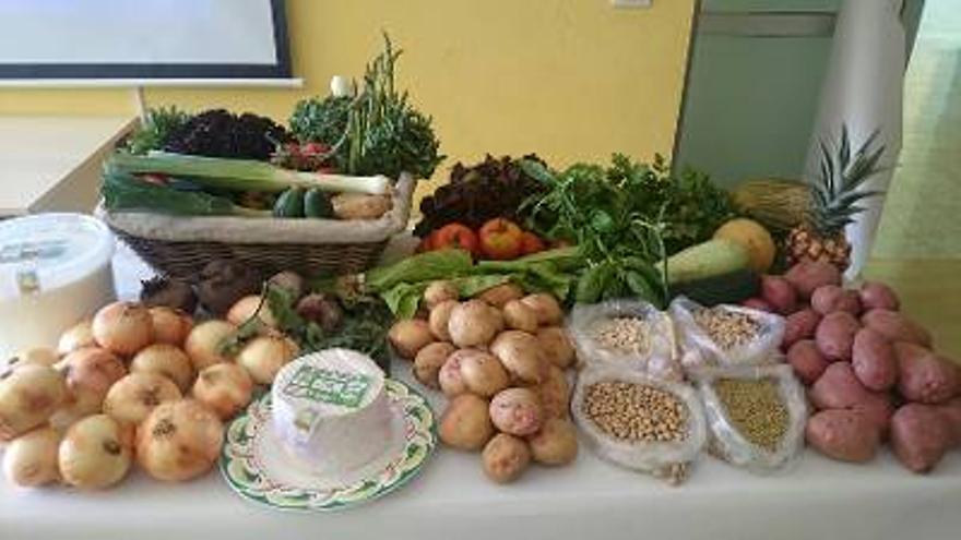 Productos ecológicos. Foto: Gobierno de Canarias.