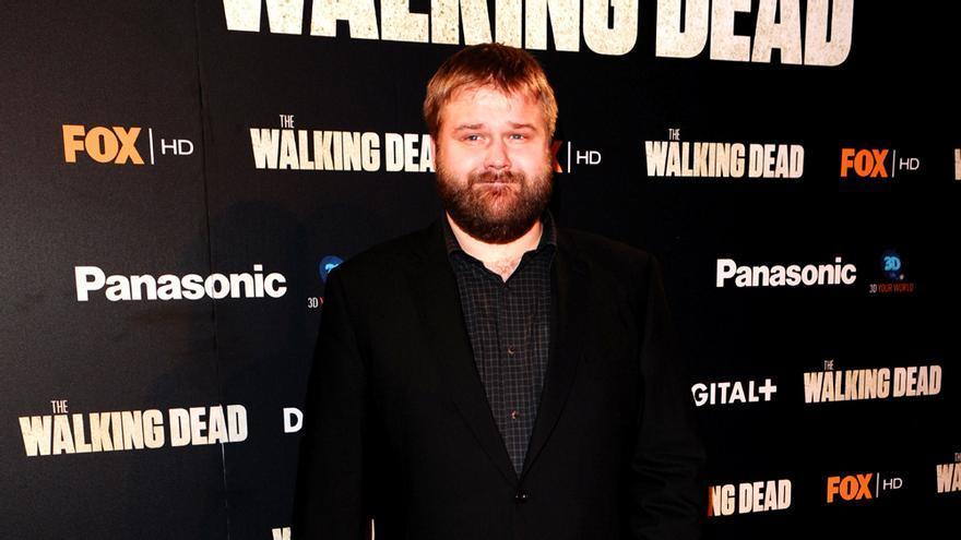 Robert Kirkman, en una presentación de The Walking Dead
